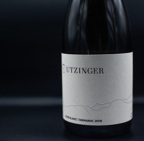 Bottle of Utzinger Fume Blanc