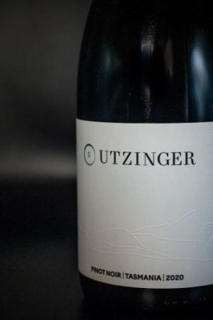 Bottle of Pinot Noir - Utzinger Wines