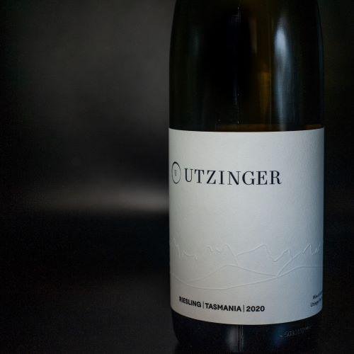 Bottle of Riesling 2020 - Utzinger Wines