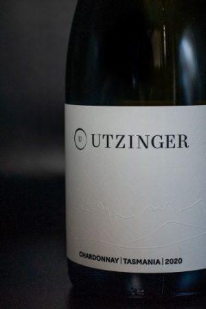 Bottle of Utzinger Wine - Chardonnay
